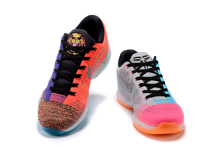 2016 Nike Kobe 10 Elite Low Multi-Color What The For Sale