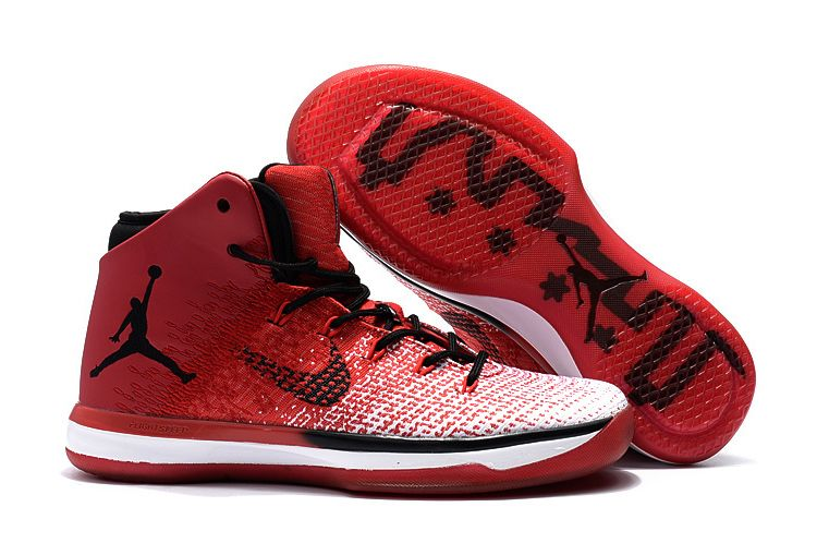 2017 Air Jordan 31 XXXI Chicago University Red Black-White Cheap Sale