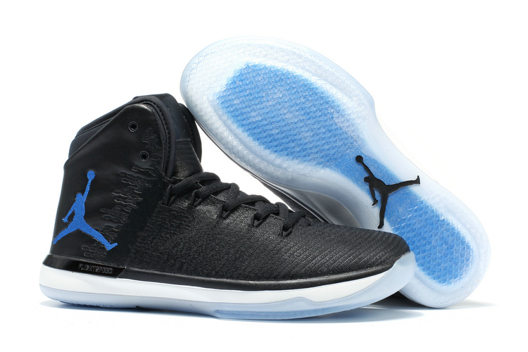 2017 Air Jordan 31 XXXI Space Jam Black Dark Concord-White Cheap Sale