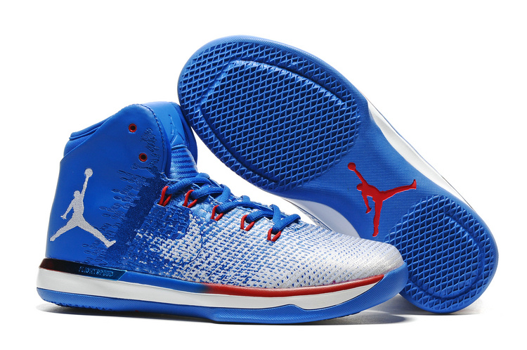 2017 Air Jordan XXXI Olympics USA Deep Royal Blue White University Red
