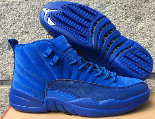 2017 Cheap Air Jordan 12 Deep Royal Blue For Sale - Cheap Nike Air ... 7e8dfb1f5