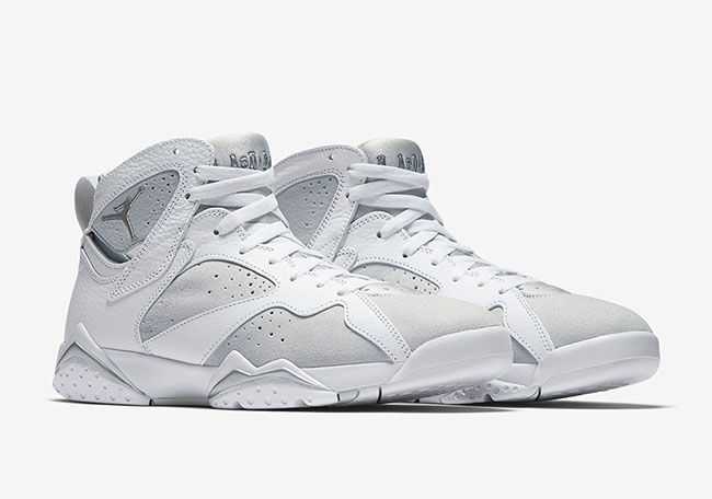 2017 Cheap Air Jordan 7 Pure Platinum For Sale