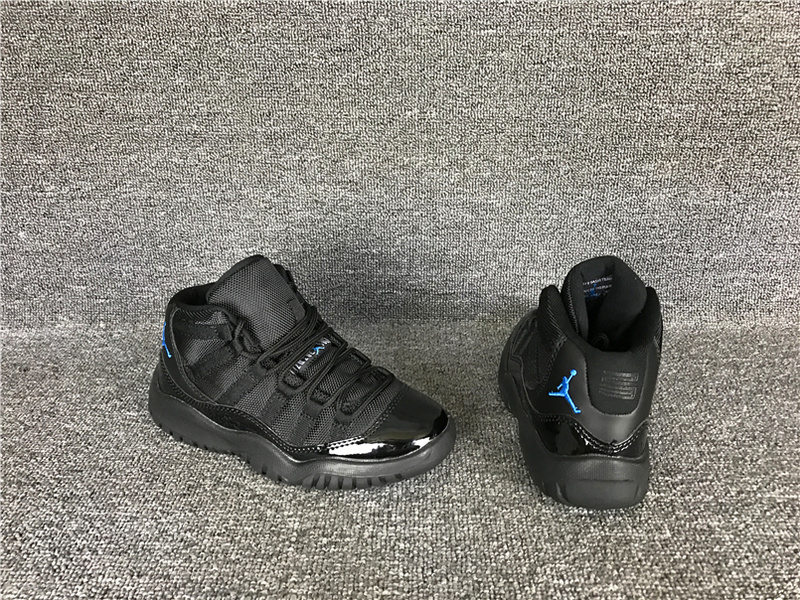2017 Cheap Kids Air Jordan 11 Gamma Blue Sneakers For Sale