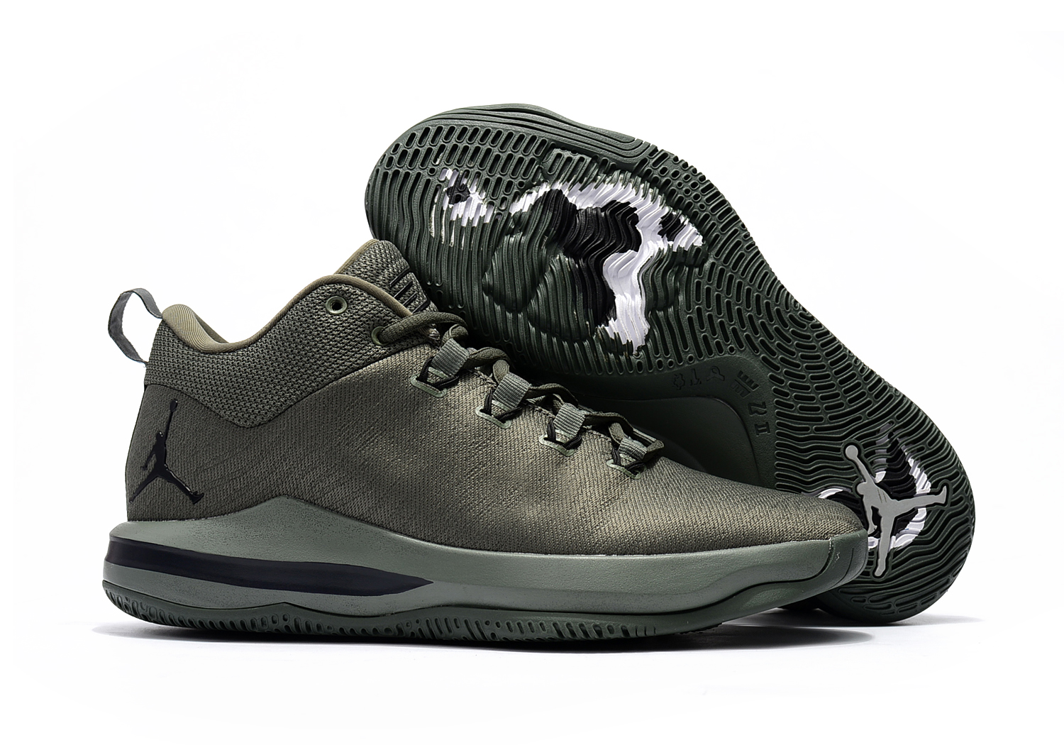 2017 Jordan CP3.X AE River Rock Black-Metallic Silver For Sale