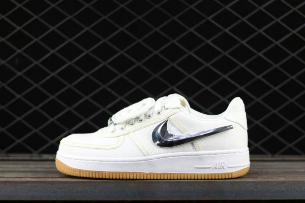 Cheap 2017 Nike Air Force 1 Low Travis Scott White For Sale