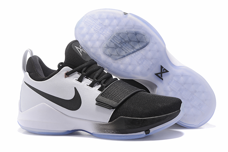 2017 Nike Zoom PG 1 White Black For Sale