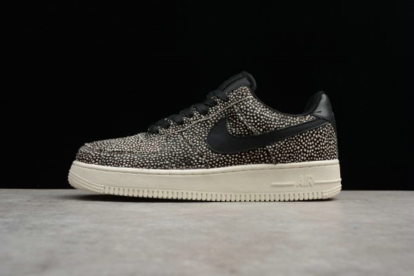 Cheap 2017 NikeLab Air Force 1 LX Black-Black-Sail-Sail For Sale