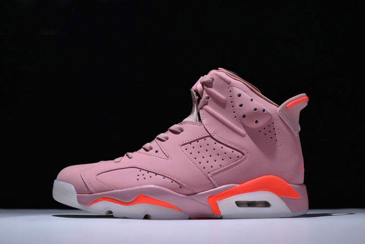 Cheap 2018 Aleali Mays Air Jordan 6 Retro Millennial Pink For Sale