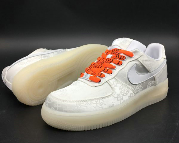 Cheap 2018 CLOT x Nike Air Force 1 Premium White For Sale