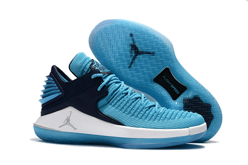 2018 Cheap Air Jordan Retro 32 Blue White