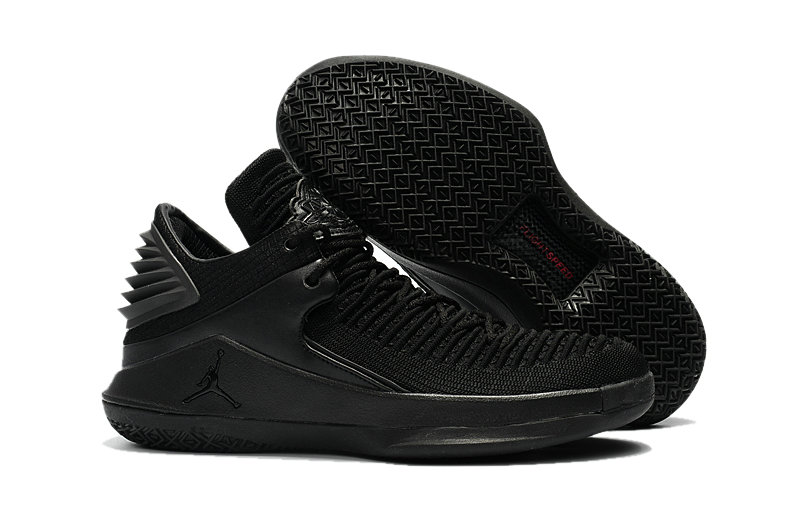 2018 Cheap Air Jordan Retro 32 Triple Black