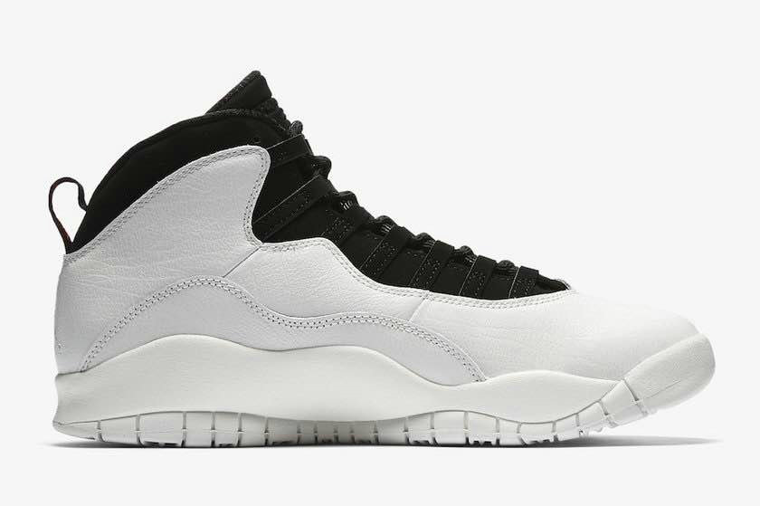 2018 Cheap Air Jordans Retro 10 White Black