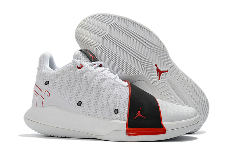2018 Cheap Nike Air Jordan CP3 XI White Red Black Cheap Sale