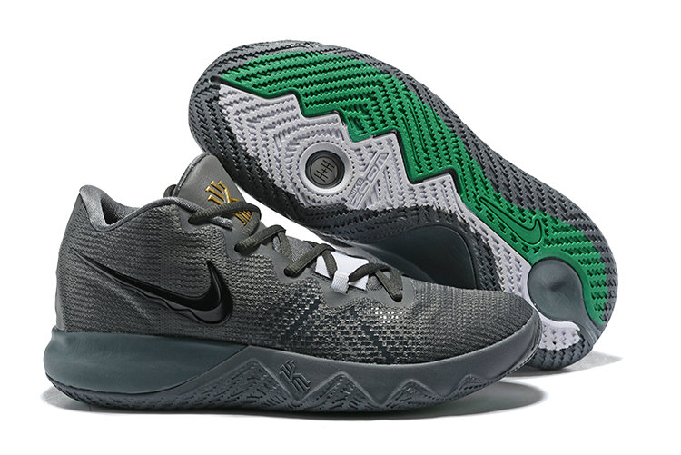 e08e5c0404d5 2018 Cheap Nike Kyrie Irving Flytrap Grey Black Green - Cheap Nike ...