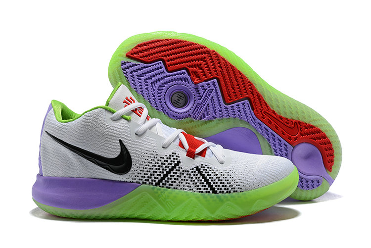 2018 Cheap Nike Kyrie Irving Flytrap Purple White Black Red Green