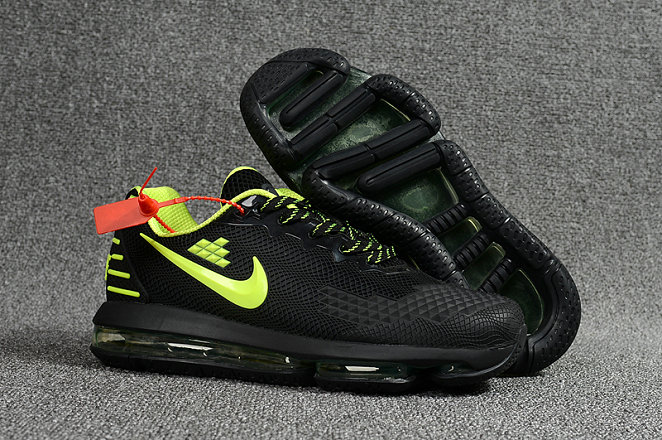 2018 NikeLab Air Max x Cheap Nike Air Max 2019 Fluorescent Green Black