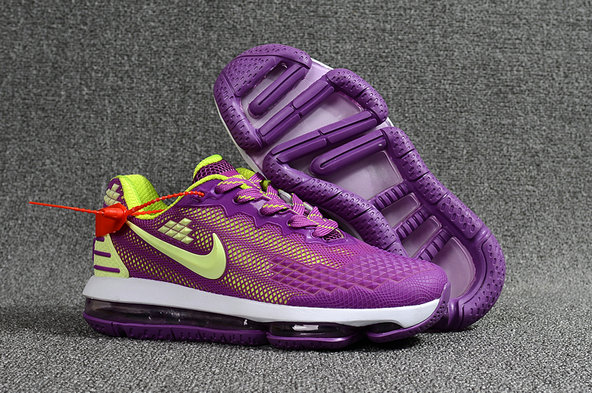 2018 NikeLab Air Max x Cheap Nike Air Max 2019 Purple Fluorescent Green