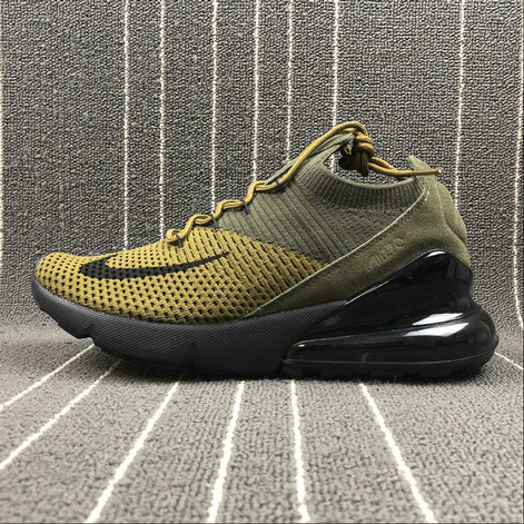 2018 NikeLab Air Max x Cheap Nike Air Max 270 Army Green Dark Green-Black Vert Fonce Vert Noir