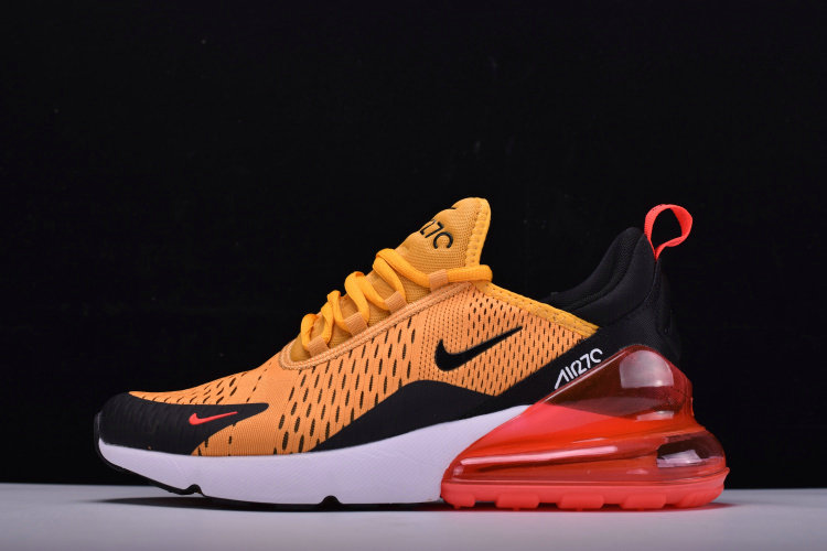 2018 NikeLab Air Max x Cheap Nike Air Max 270 Arrives In Black University Gold-Hot Punch-White