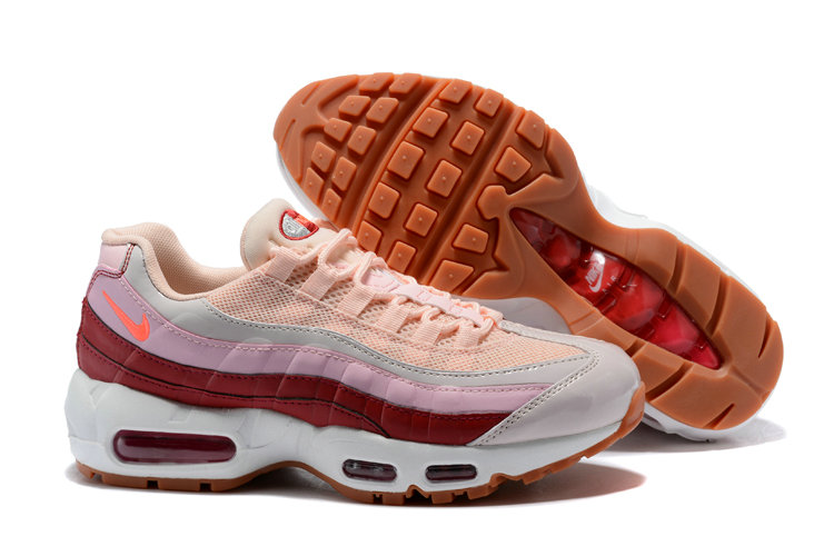 best website fccb1 60551 2018 NikeLab Air Max x Cheap Womens Nike Air Max 95 Pink Wine Red White  Orange
