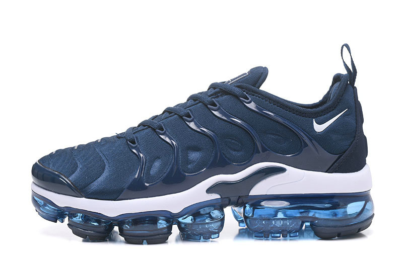 2018 NikeLab VaporMax x Cheap Nike Air Vapormax Plus Collegiate Navy White