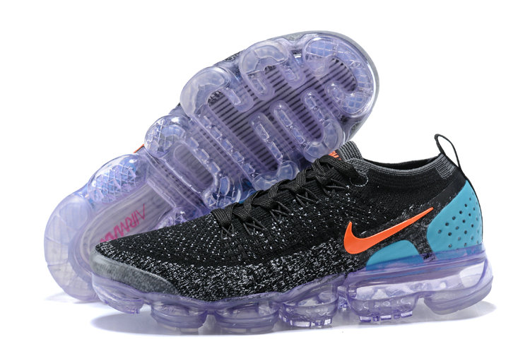 2018 NikeLab VaporMax x Cheap Nike Vapormax FK 2.0 in Black Punch Cactus