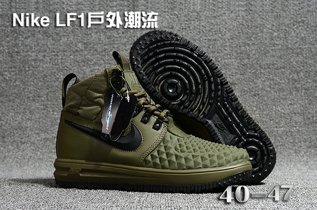 Cheap 2018 Nike Lunar Force 1 DuckBoot Army Green Black