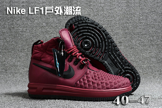 Cheap 2018 Nike Lunar Force 1 DuckBoot Purple Black