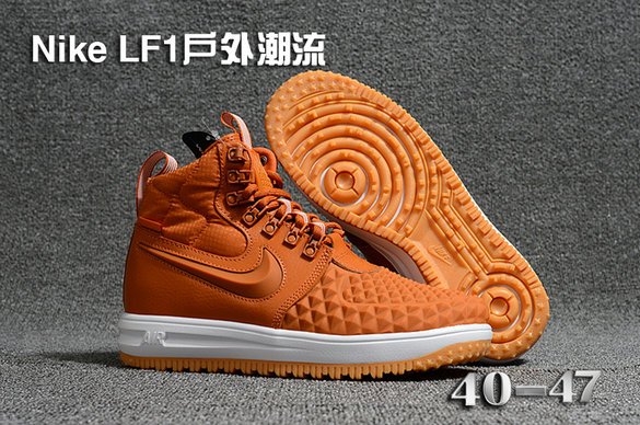 Cheap 2018 Nike Lunar Force 1 DuckBoot Wheat White