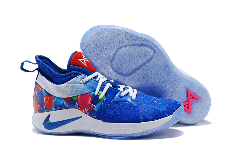 2018 Cheap Nike Zoom PG 2 Blue Pink White