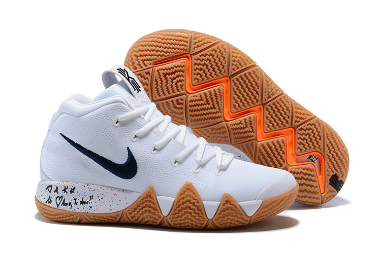 2018 Nike Kyrie Shoes x Cheap Nike Kyrie 4 Uncle Drew Flim Black White