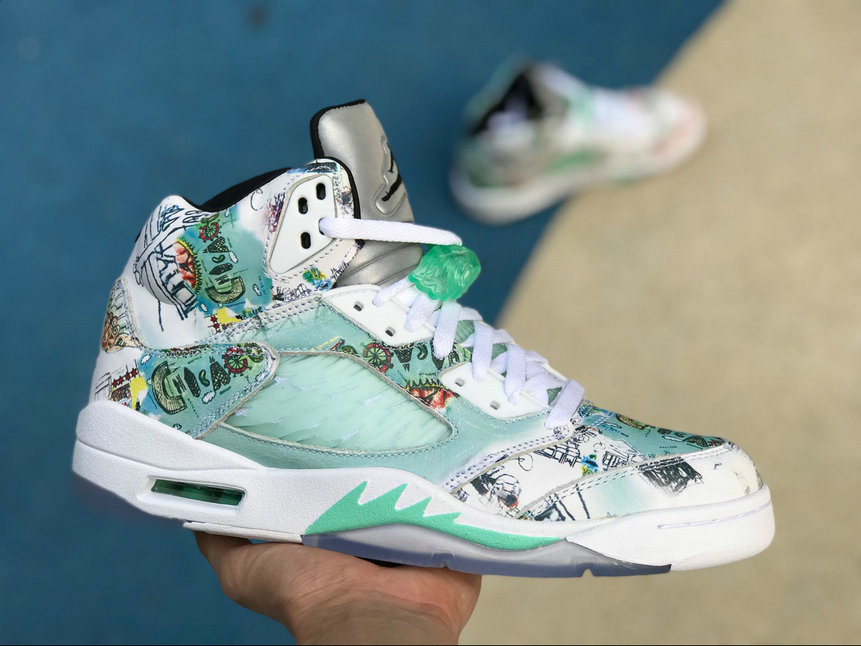 Cheap 2018 Mens Air Jordan 5 Wings Multi-Color AV2405-900 For Sale
