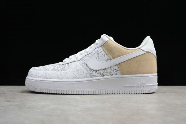 Cheap 2018 Nike Air Force 1 Low PRM YOTD 18 White For Sale