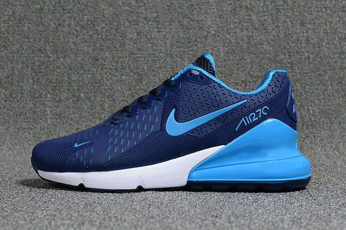 2018 Nike Air Max 270 Blue White Black Mens Cheap Online
