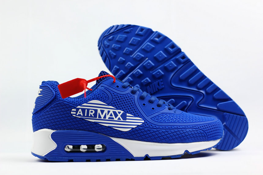 ... free shipping 2018 nike air max 90 sneakerboot royal blue white cheap  sale 772bd 703be 1a7791138f05