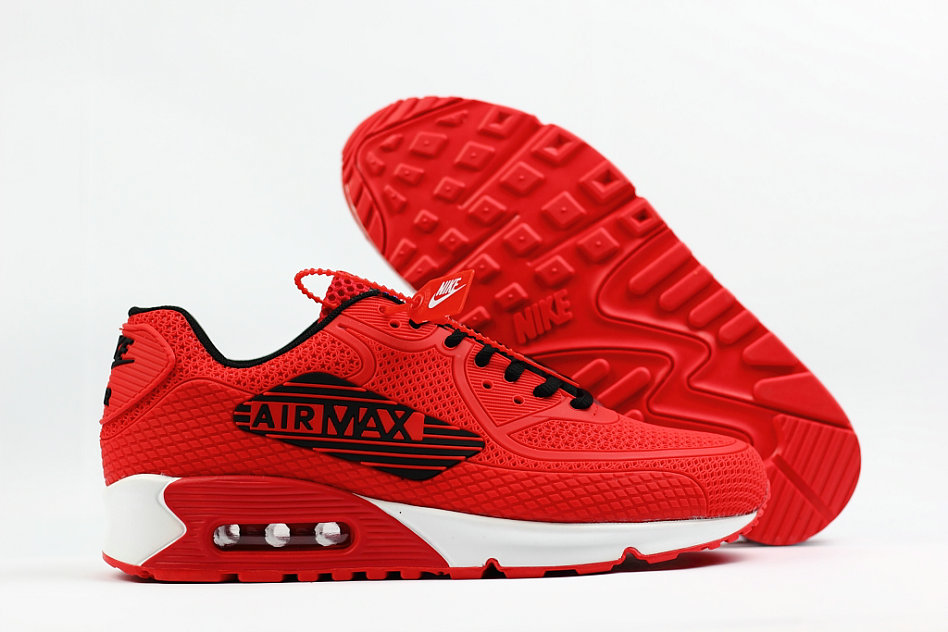 new concept 5f049 9e630 2018 Nike Air Max 90 SneakerBoot University Red White Cheap ...