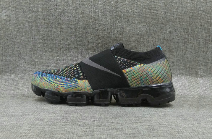 black and colorful vapormax
