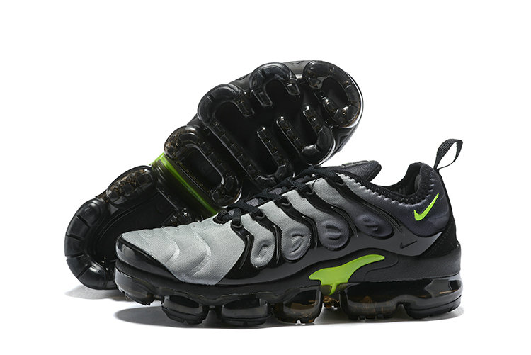2018 Nike Air VaporMax Plus Grey Black Green Cheap Sale