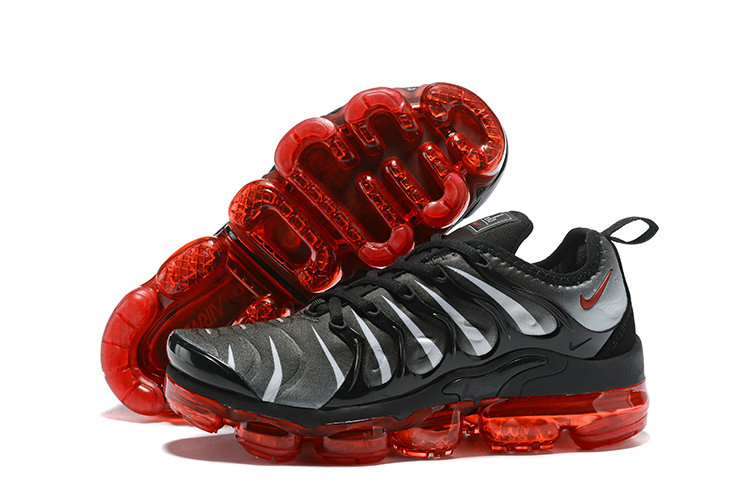 2018 Nike Air VaporMax Plus Purple Black Silver Fire Red Cheap Sale
