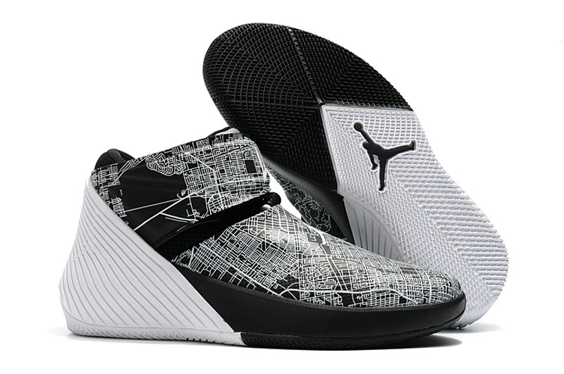 2018 Nike Cheap Air Jordan Why Not Zer0.1 Grey White Black