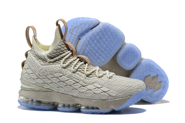 2018 Nike Lebron Shoes x Cheap Nike LeBron 15 Ghost String Vachetta Tan-Sail