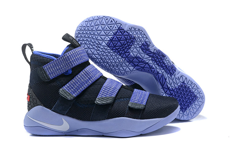 2018 Nike Lebron Soldier 11 XI Navy Blue Bright Cheap Sale