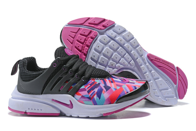 2018 Nike Air Presto x Cheap Womens Nike Air Presto Black Purple White