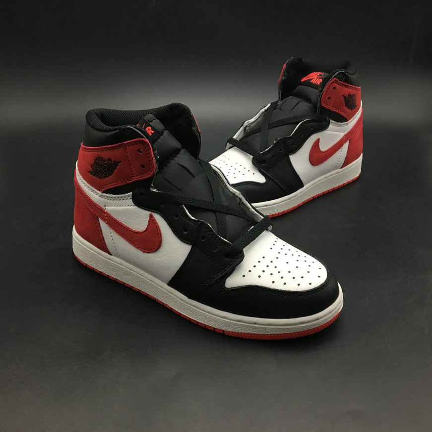 2018 Womens Nike Air Jordan 1 REBEL XX OG TOP 3 Red White Black Cheap Sale f5e7d0b14