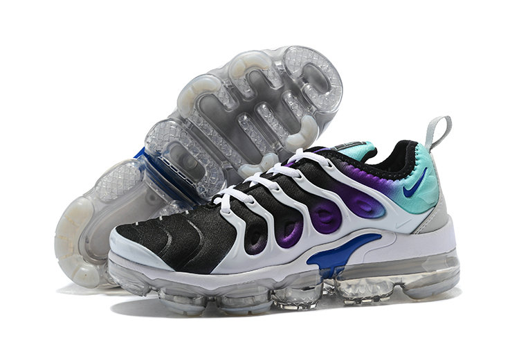 2018 Womens Nike Air VaporMax Plus Purple Black White Green
