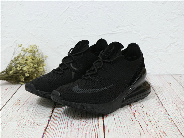 2018 Cheapest Sale Nike Air Maxs 270 Flyknit Mens All Black