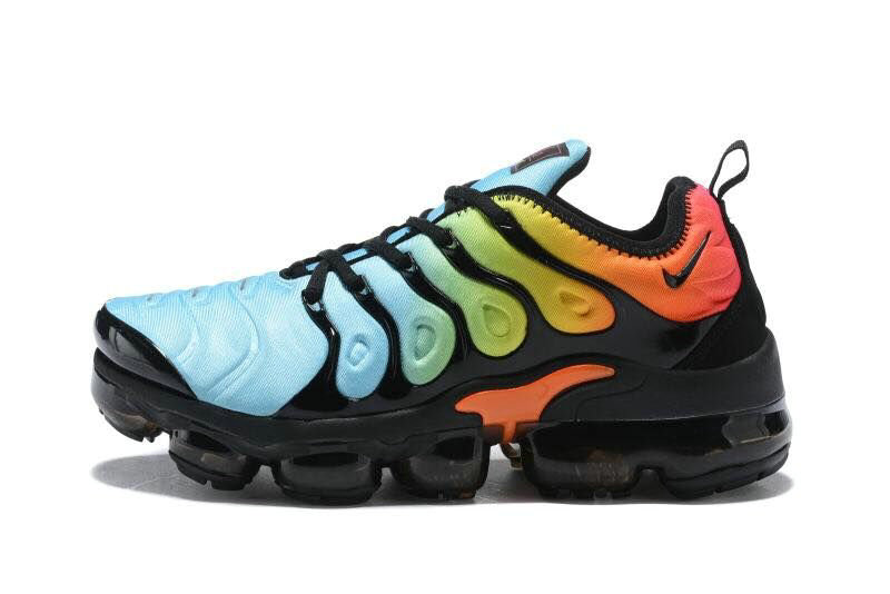 2018 Cheapest Sale Nike Air VaporMax Plus Womens Jade Green Orange Black