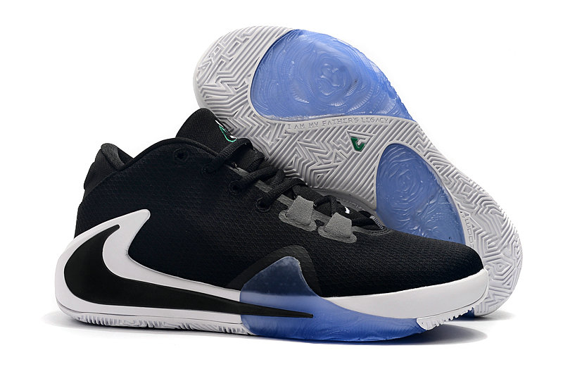 2019 Cheap 2019 Nike Zoom Freak 1 Black White Blue