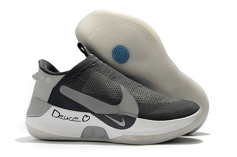2019 Cheap Nike Adapt BB Black Pure Platinum
