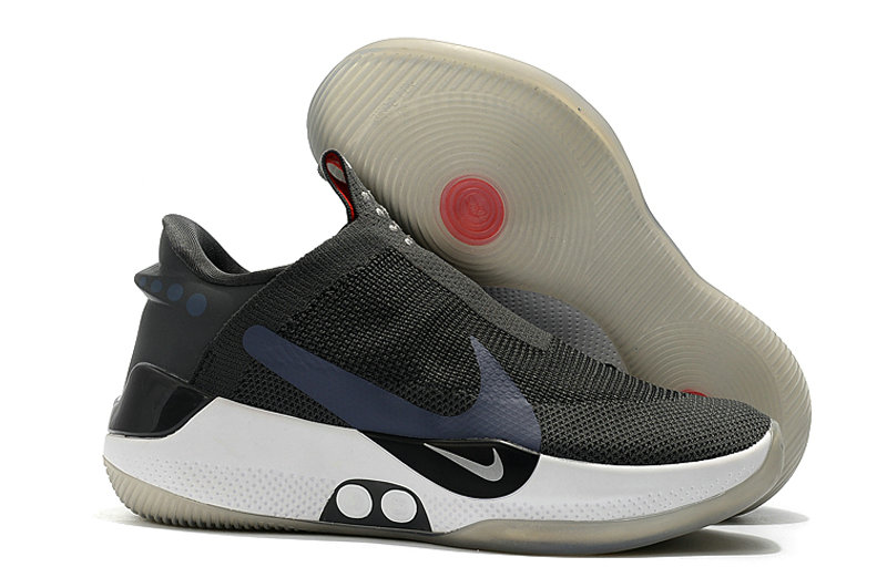2019 Cheap Nike Adapt BB Silver Grey Black White